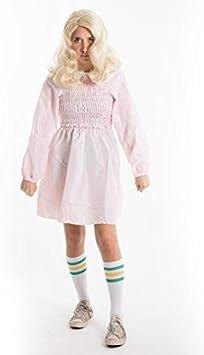 Bodysocks® Disfraz de Eleven Hembra (Calcetines incluidos ...