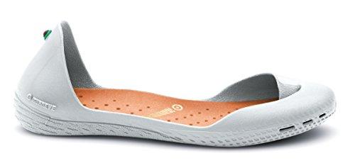 IGUANEYE Freshoes Ultra-minimal Sneakers Light Grey/Amber Orange