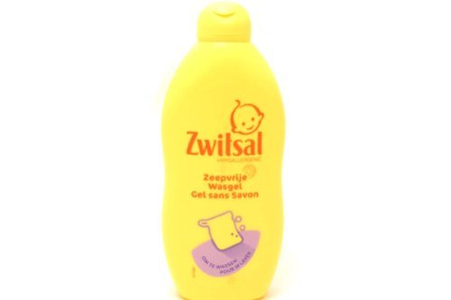 Baby Soap Free Wash Gel - 400ml (Pack of 1) by Zwitsal