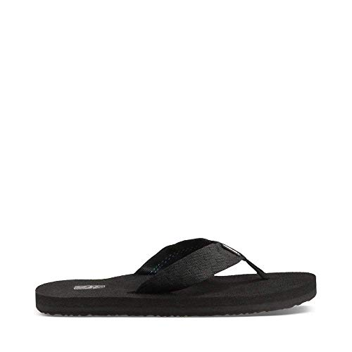 Teva Men's Mush II Flip Flop,Brick Black,11 M US