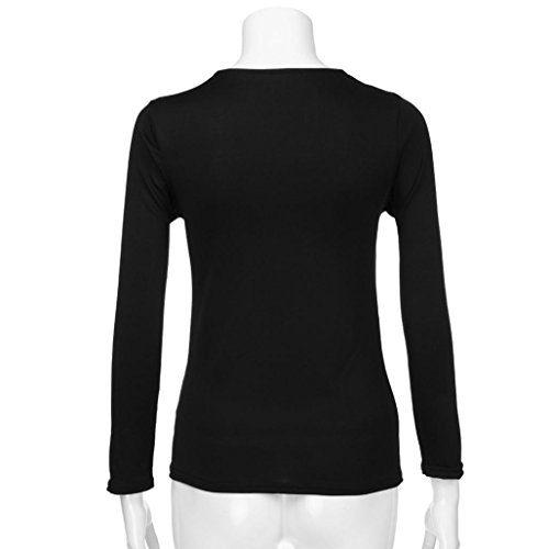 Veste Longues Sexy Blouse en Paillettes Tops Casual V Femme Col Manches Casual T Shirt Mode VJGOAL Femme Femmes qAtwCaxn4