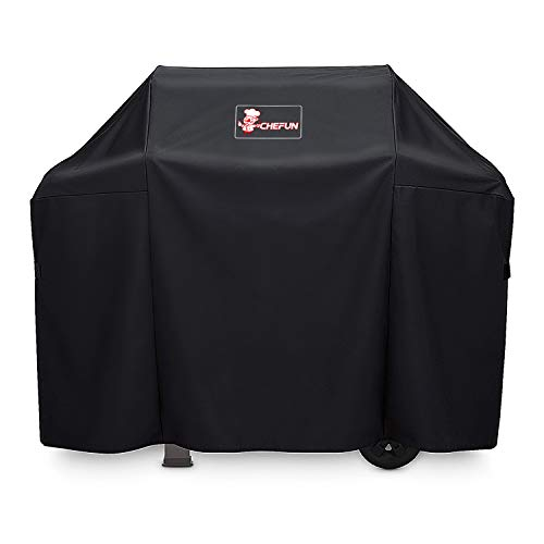 CHEFUN Gas Grill Cover for Weber 7139 Spirit II 300,Sprit 300 and Spirit 200 Series Large Waterproof Heavy Duty Weather-Resistant Polyester