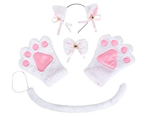 Justi (White Cat Costume For Women)