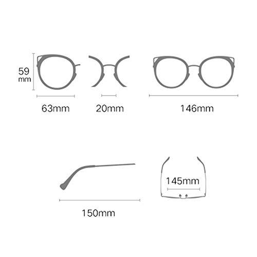 soleil Des Femme Conduite de Femmes de Soleil B à Cadre Lunettes Miroir colorées pour Nouvelles lunettes polarisées de Grand Sport Cat Eye rrtEq0