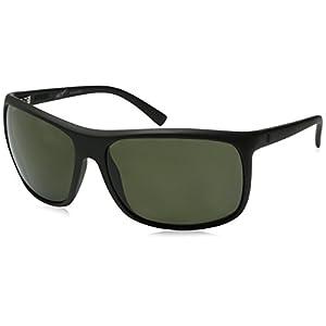 Electric Visual Outline Matte Black/Polarized Grey Sunglasses
