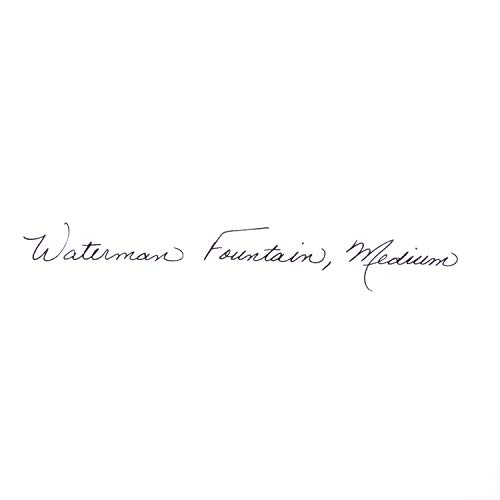 Waterman Expert Matte Black, Fountain Pen with Fine nib and Blue ink (S0951840) by Waterman (Image #8)