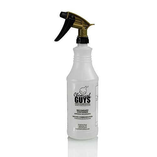 Chemical Guys Acc_136 1 Pack Acid Resistant Sprayer with 32 oz Heavy Duty Bottle