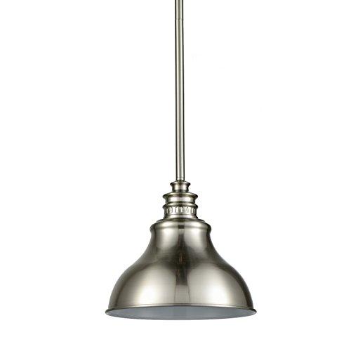 Yobo Lighting Brushed Nickel Barn Hanging Kitchen Lights Pendant Chandelier