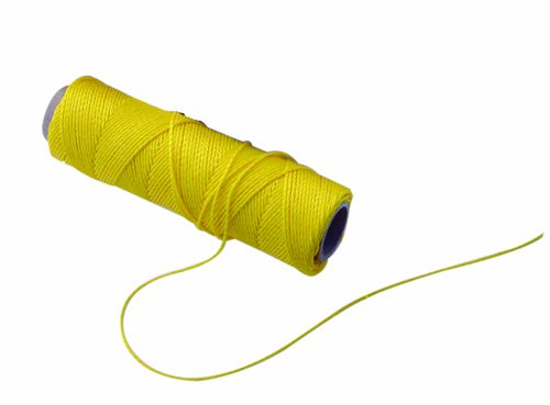 Bon 11-133 No.18 Braided Nylon Line, 1000-Feet, Yellow by bon