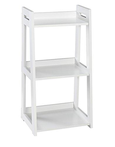 ClosetMaid 3314 No-Tool Assembly Ladder Shelf, Narrow 3-Tier, - 35 3 Inch Tier