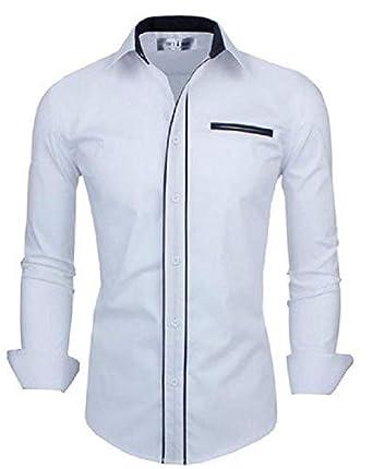 aae0e09ac6 Camisa Social Premium Slim Estilo Europeu  Amazon.com.br  Amazon Moda