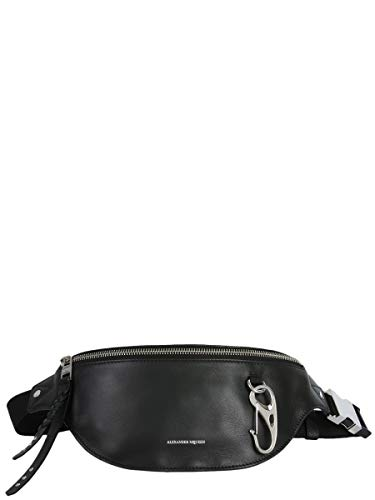 Bag Mcqueen Black 5322021A71N1000 Alexander Leather Men's Travel 4YwxAndzq