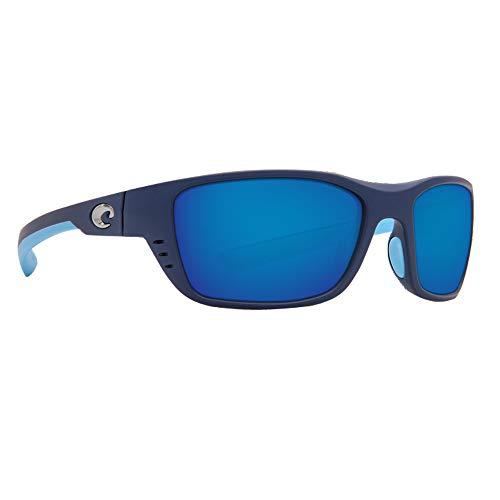 Costa Del Mar Whitetip 580P Whitetip, Matte Heron Blue Mirror, Blue Mirror