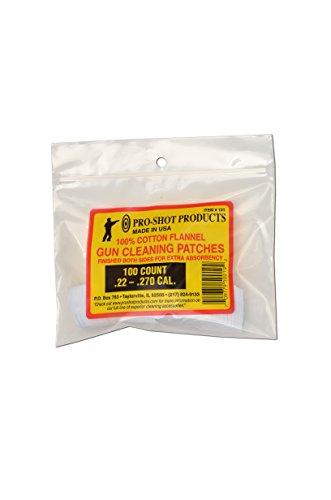 Pro Shot .45-.58 Caliber Black Powder 100 Count Patches ()
