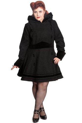 Hell-Bunny-Plus-Black-Hooded-A-line-Princess-Sofia-Coat
