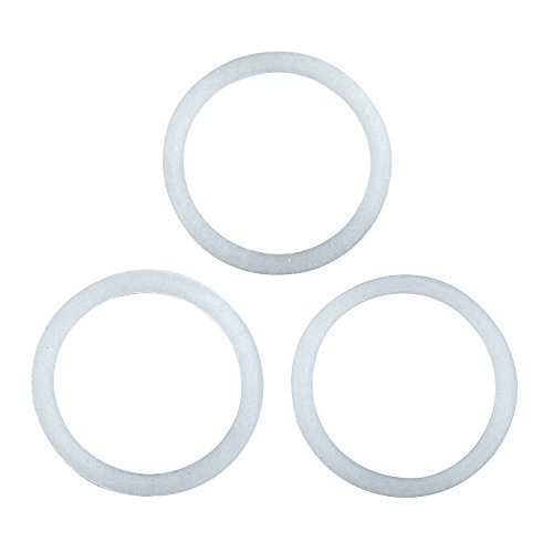 Primula Replacement Silicone Gasket for Stainless Steel 6 Cup Stovetop Espresso Maker, Set of (Stovetop Espresso Set)