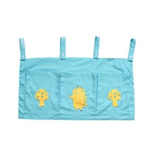 CCEletina Snoopy Moon 24 £¬ Hot Newborn Crib Bed Organizer Toy Diaper Pocket Baby Bed Hanging Storage£¬ Nursery 24x38 X Sloth (Baby Looney Tunes 4 Piece Crib Bedding Set)