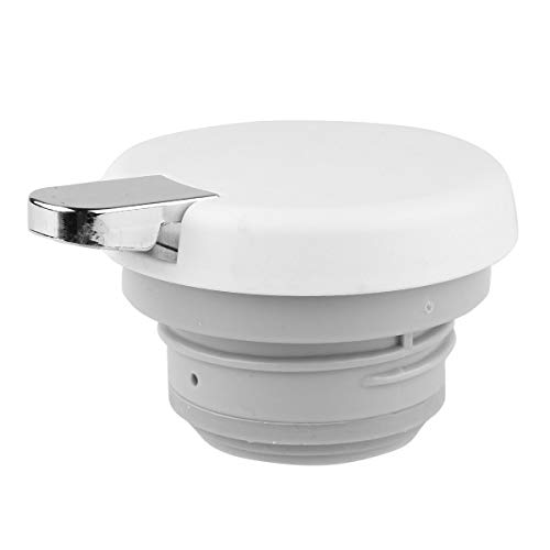 CHICTRY Hot Water Kettle Lid Thermos Coffee Pot Teapot Water Pitcher Lid Replacement with Press Button Type A Off-White One Size by CHICTRY (Image #4)