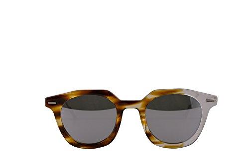 f880fbfe03ae1 Christian Dior Homme DiorMaster Sunglasses Havana Crystal w Silver Mirror  Lens KRZDC