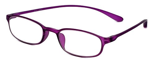 (Calabria Reading Glasses - 718 Flexie in Violet (+2.50))