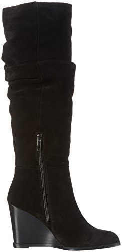 French Connection Chevron 660428 - Botas altas para mujer Negro (Black 001)