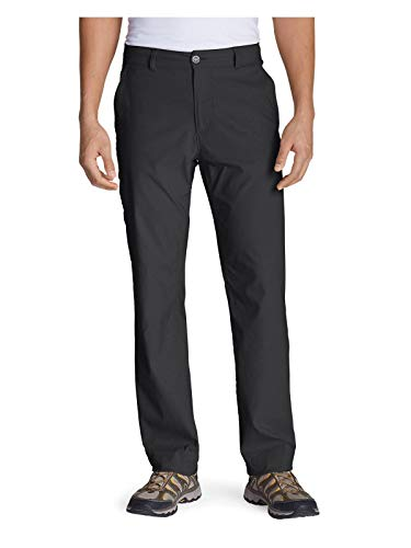 Eddie Bauer Men's Horizon Guide Chino Pants, Carbon Regular 33/32
