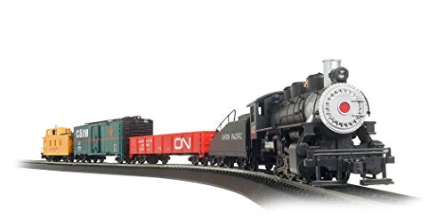 Bachmann Trains - Pacific Flyer Ready To Run Electric Train Set - HO Scale