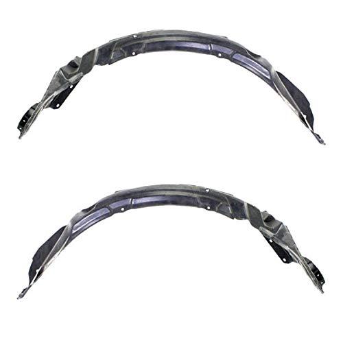05-09 LaCrosse Front Splash Shield Inner Fender Liner Panel Left Right SET PAIR