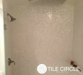 Amazoncom Genuine Mother of Pearl Shell Tile White 58 x 1