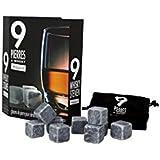 Ard'time BS-9CUBWHI Coffret Pierre à Whisky 9 Cubes en Marbre