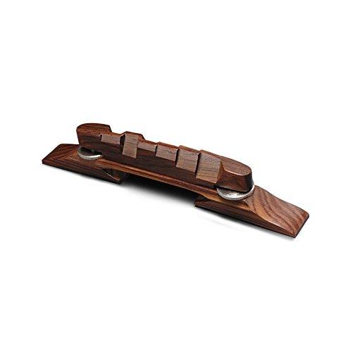 Golden Age Archtop Guitar Bridge, Indian Rosewood (Best Archtop Guitar Under 500)