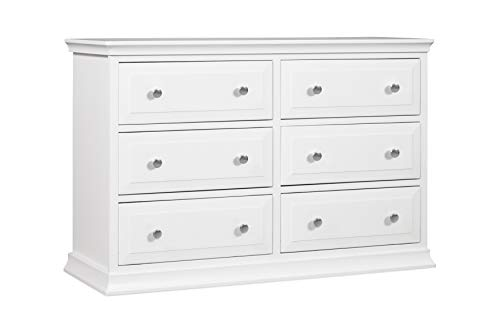 Davinci Signature 6-Drawer Double Dresser, White