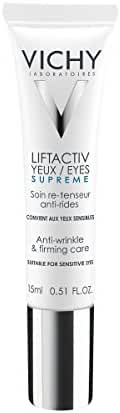 Vichy LiftActiv Eyes Anti-Wrinkle and Firming Eye Cream with Caffeine. For Dark Circles and Under-Eye Bags, 0.5 fl. oz.