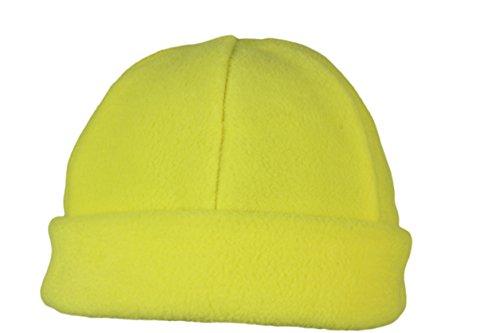 invierno polar cálido Hat para Gorro hombres hecho Fleece mujeres muy de Yellow de Beanie y forro Ski 0RHx5q