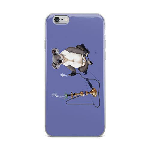 (iPhone 6 Plus/6s Plus Case Anti-Scratch Creature Animal Transparent Cases Cover What A Drag Colour Animals Fauna Crystal Clear)