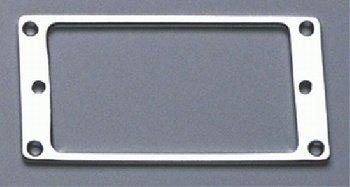 Allparts PC-0741-010 Chrome Flat Profile Humbucking Pickup Ring Set