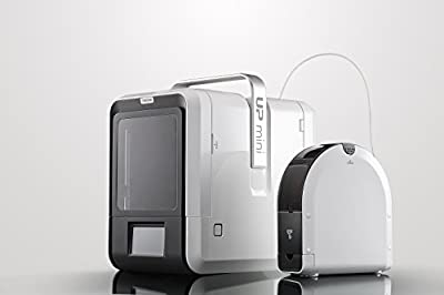 Tiertime up Mini 2 ES 3D Printer - Linux Embedded System, Built-in HEPA Filtration, Advanced Materials Options, WiFi Connection
