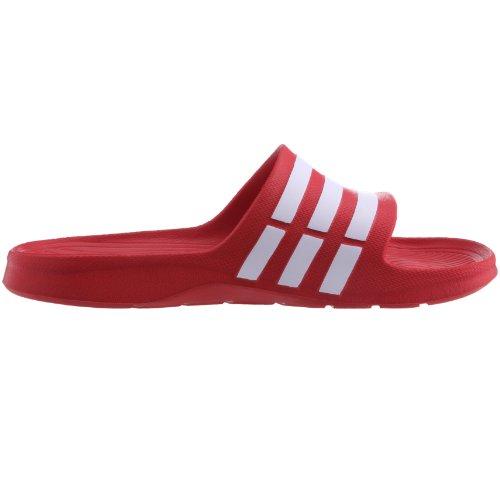e da Uomo Collegiate Piscina PerformanceDuramo Red Red White rot adidas Collegiate Spiaggia Scarpe Rosso Slide Cwx1XfqBnt