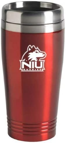 Northern Illinois University-16 oz Inc LXG Stainless Steel Mug-Red