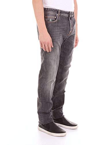 Uomo Borrelli Jeans Denim Luigi Tj132camerelle Grigio E6qWET4