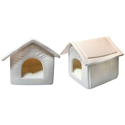 Quilted Indoor Pet Kennel for Dogs & Cats 42cm x 39cm x 40cm (Pet One)