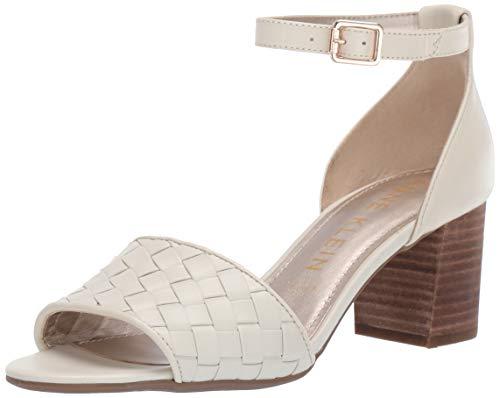 Anne Klein Women's Carine Dress Sandal Heeled, Cream 7.5 M US from Anne Klein