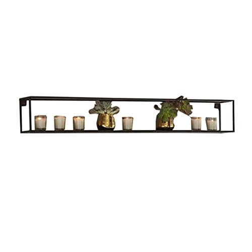 - Wall shelf Partition Do not need to punch Various shapes Lattice wall shelf Corner Shelves (Size : 6516cm)