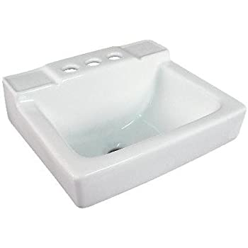 Small Wall Mount Bathroom Sink 14 x12  White. Small Wall Mount Bathroom Sink 12 4 x11  White     Amazon com