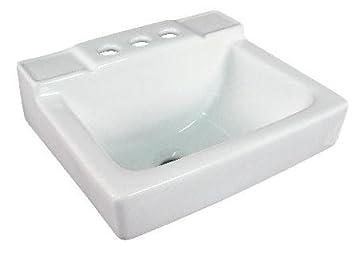 Small Wall Mount Bathroom Sink 14u0026quot;x12u0026quot; ...