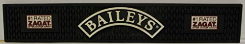 (Baileys irish cream Bar Mat silicon rubber with gripper spill groves 3.5 x 21