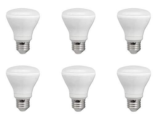 TCP 50ワット LED R20 6パック ソフトホワイト 2700K 調光可能 フラッドライト電球   B07N4CNLH4