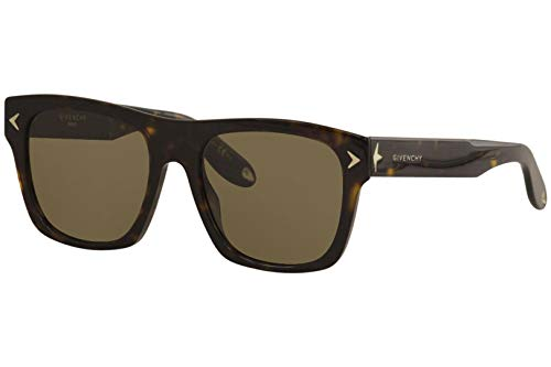 Givenchy 7011/S Sunglasses-0086 Dark Havana (E4 Brown ()