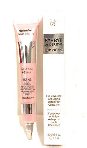 iT Cosmetics Bye Bye Under Eye Illumination Full Coverage Anti-Aging Concealer (Medium Tan)