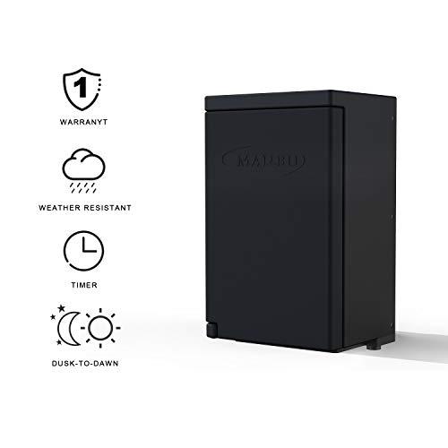 Malibu Power Pack 200watt Low-Voltage Weatherproof Transformer with Photo Sensor for Low-Voltage Landscape Lighting